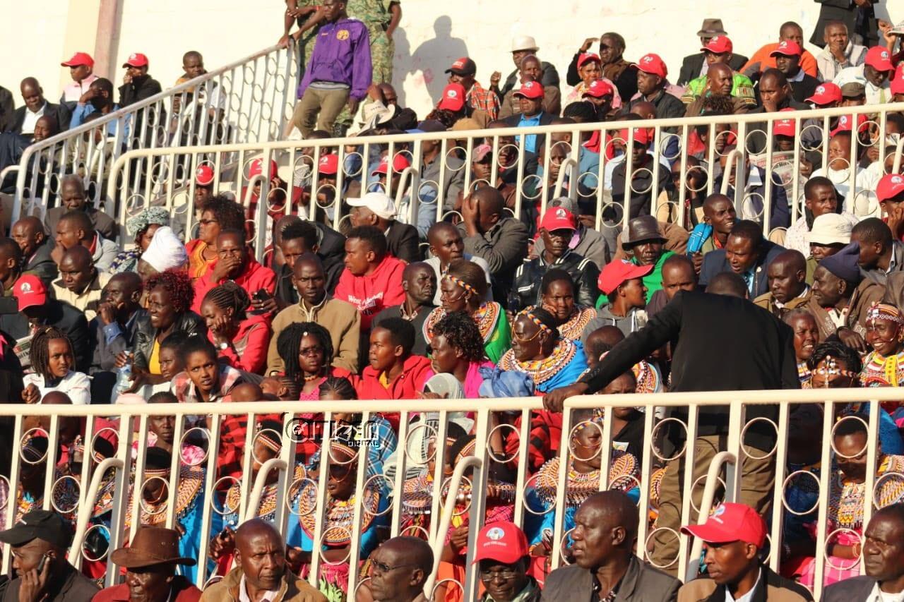 Nyayo Stadium packed ahead of Moi memorial service – PHOTOS