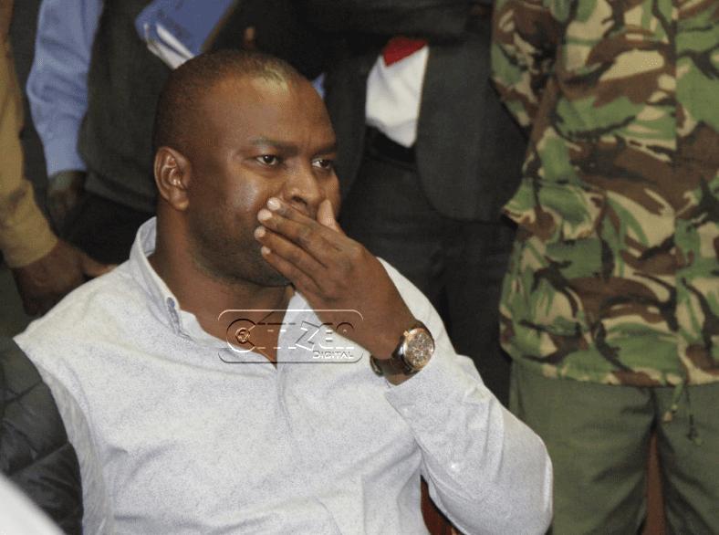 Ex-CS Rashid Echesa freed on Ksh.1M cash bail over assault, disturbance charges
