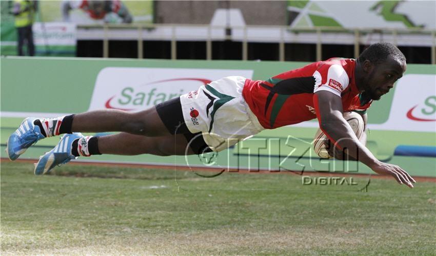 Frank Wanyama at safari 7s