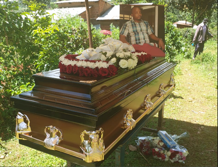 Former RMS journalist and CS Karoney's personal assistant Jacques Masea buried