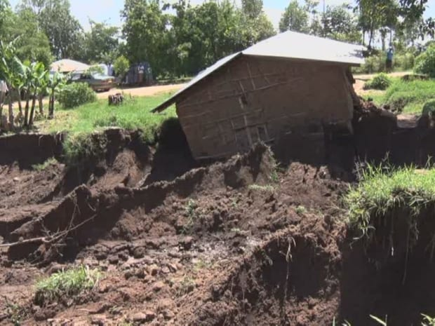 PHOTOS: Landslide Displaces Over 25 Families in Vihiga County