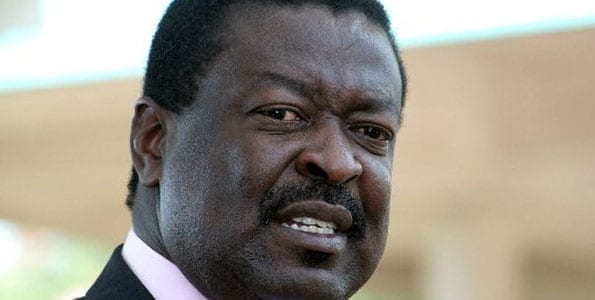 Mudavadi lectures politicians at Jonathan Toroitich funeral
