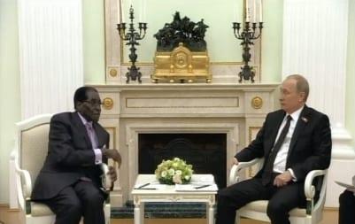 Zimbabwe's Mugabe Praises Russia's Putin for Standing up to West
