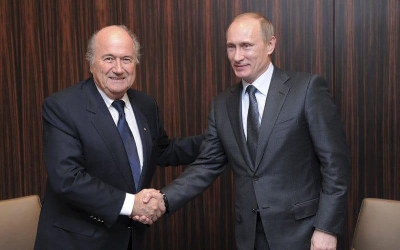 Sepp Blatter deserves Nobel Prize – Putin