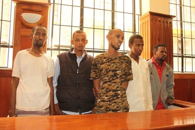 Garissa suspects