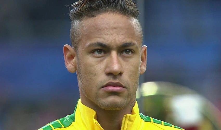 Neymar makes disabled children smile by 'kicking ball'