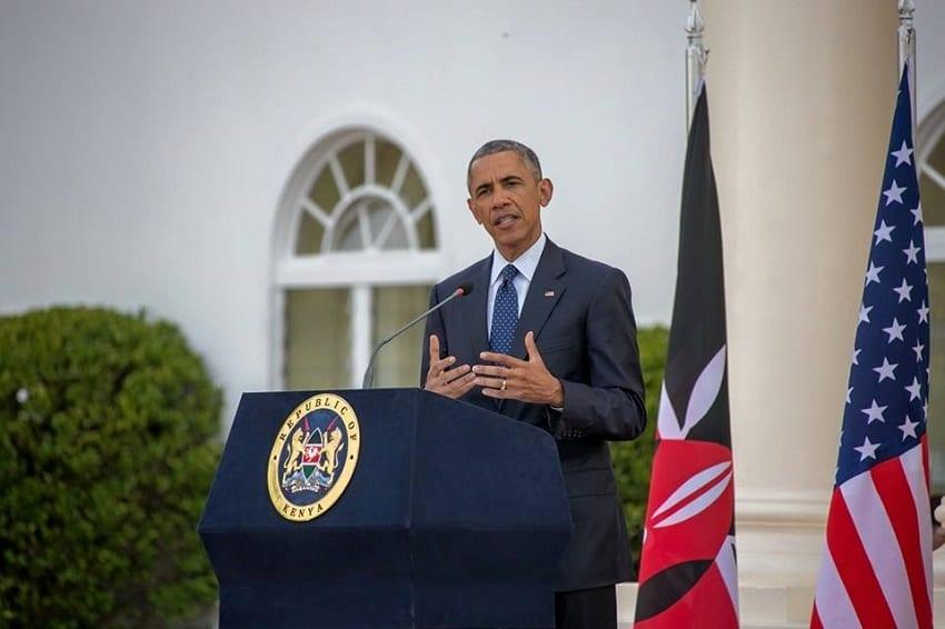 Deal with corruption firmly, President Obama tells Kenyatta