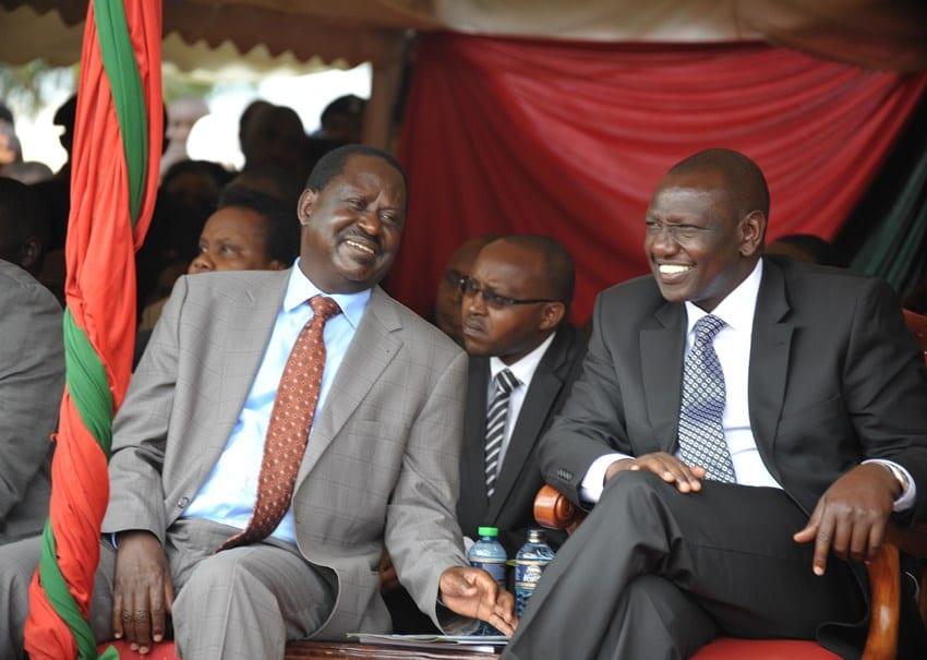Youth in Nandi defend Ruto, accuse Raila of sabotage