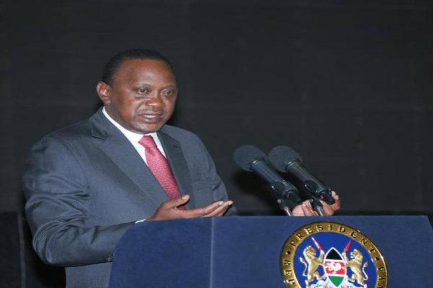 President Kenyatta in Zambia for State visit