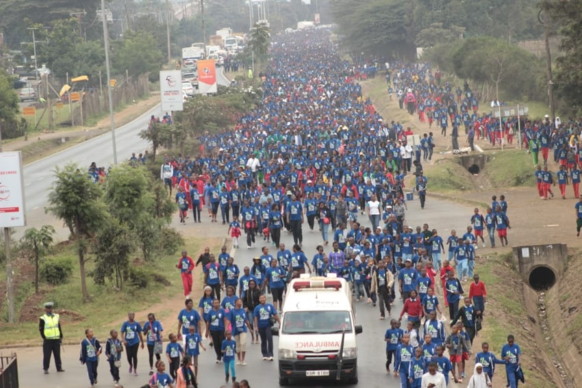 Thousands turn up for Diabetes walk