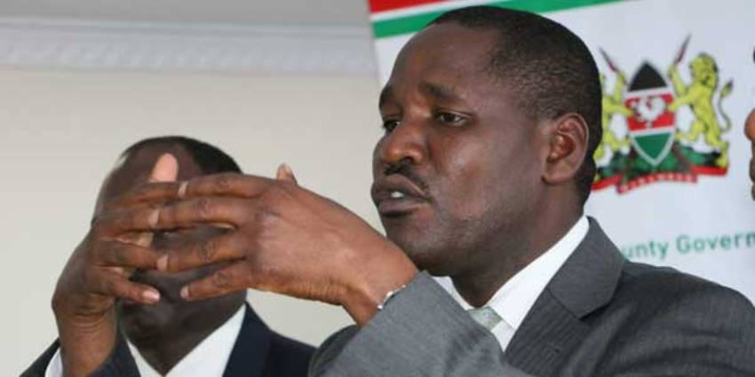 Governor Peter Munya to launch political party next week