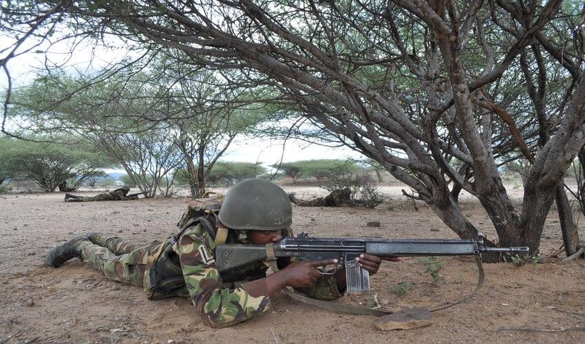 KDF soldiers kill 21 Al Shabaab militants mounting ambush