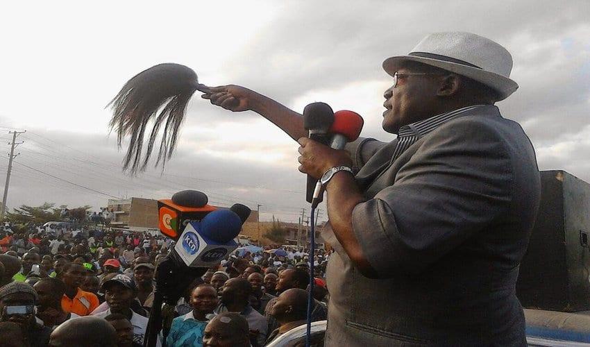 Alleged hate speech continues to haunt Senator Johnstone Muthama