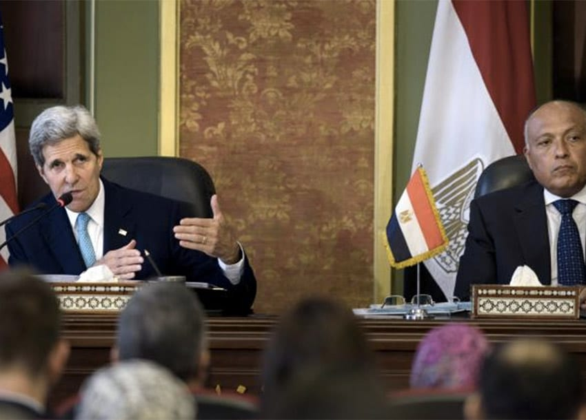 United States, Egypt begin first strategic dialogue since 2009