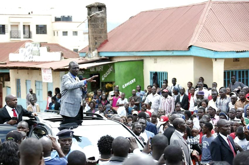Jubilee will not be deterred by ICC case – Ruto