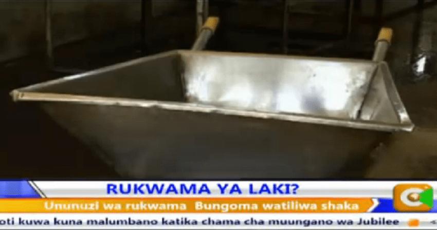 'Non-carcinogenic' wheelbarrow buyers of Bungoma charged with fraud