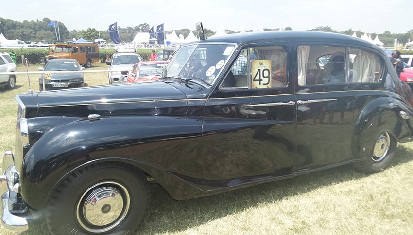 Do you remember Kenya's first president being driven in such a car? Photo/Yvonne Patock