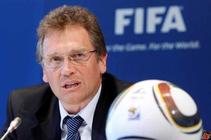 FIFA Secretary General Jerome Valcke suspended