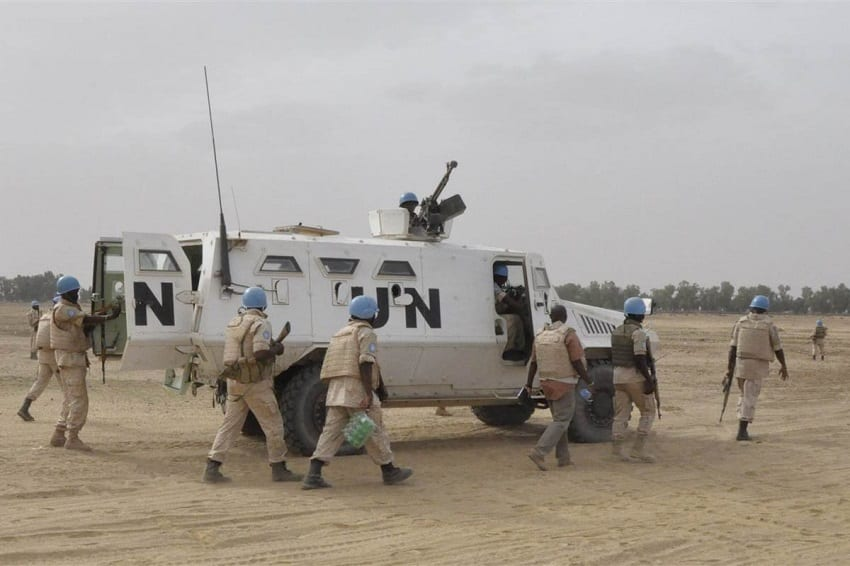 UN deploys 10,000 peacekeepers to Mali