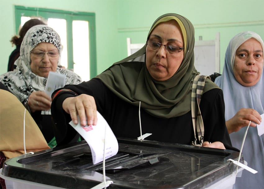 Egypt election meets apathy in Islamist stronghold