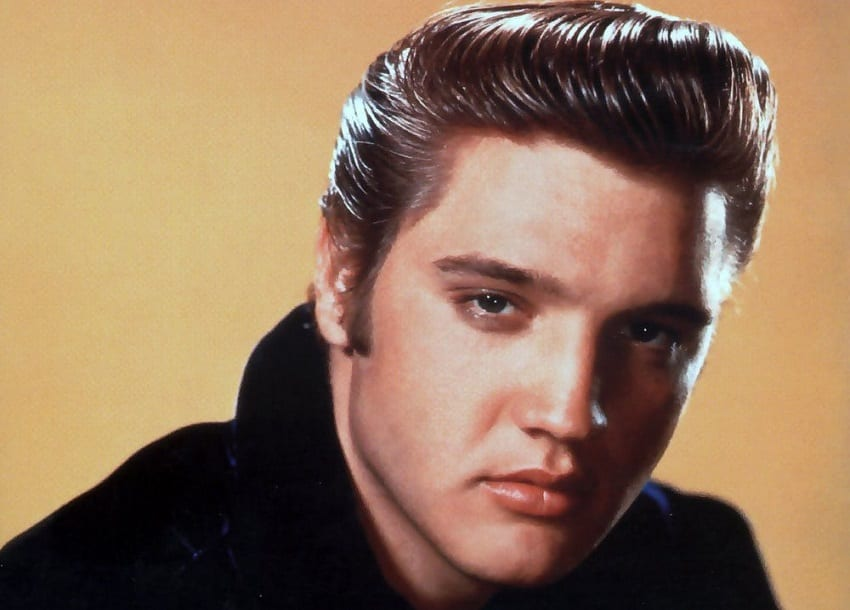 Elvis Presley tops UK album chart, 40 years on