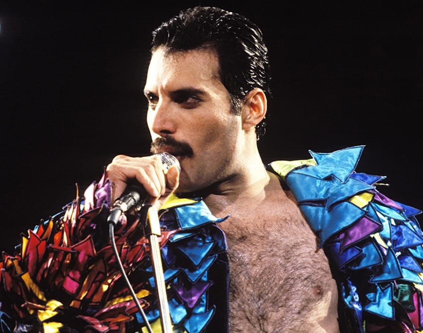 Mercury was diagnosed with AIDS shortly before Easter in 1987 PHOTO/COURTESY