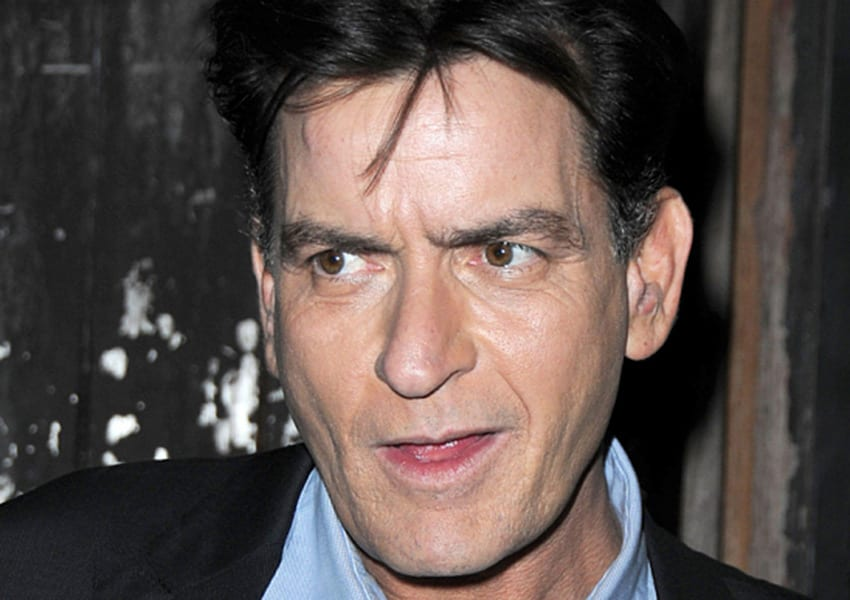 Charlie Sheen revealed he was diagnosed and tested HIV - positive in an interview PHOTO/COURTESY