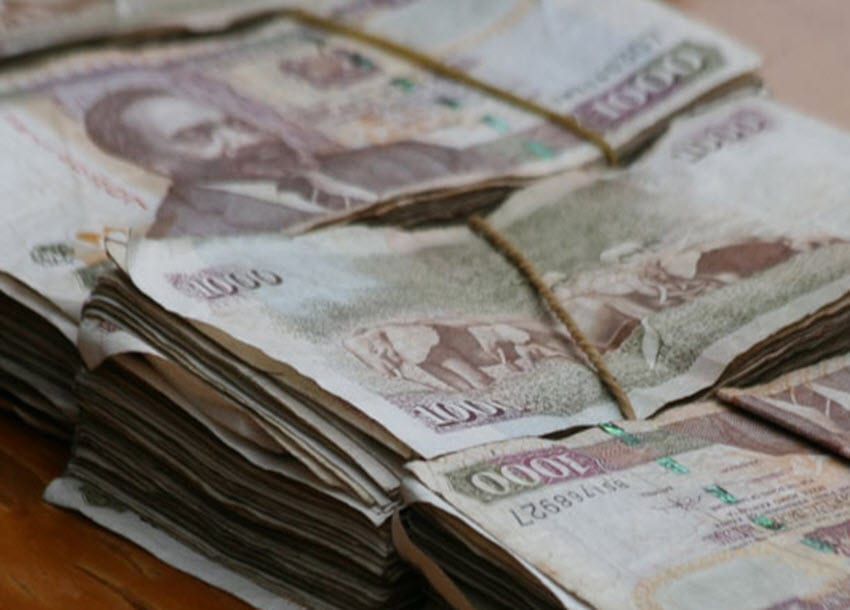 Kenyan shilling steady against the dollar