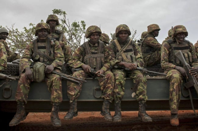Kenyan forces accused of illegal charcoal trade in Somalia