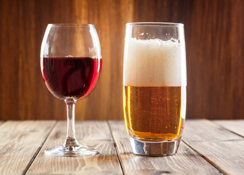 How alcohol reduces deaths in early Alzheimer's patients