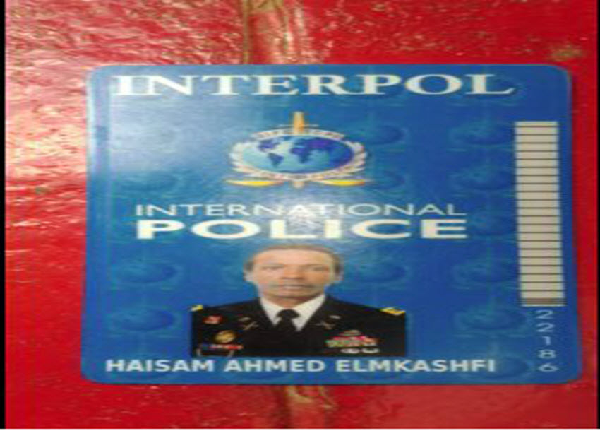 Fake Interpol officers