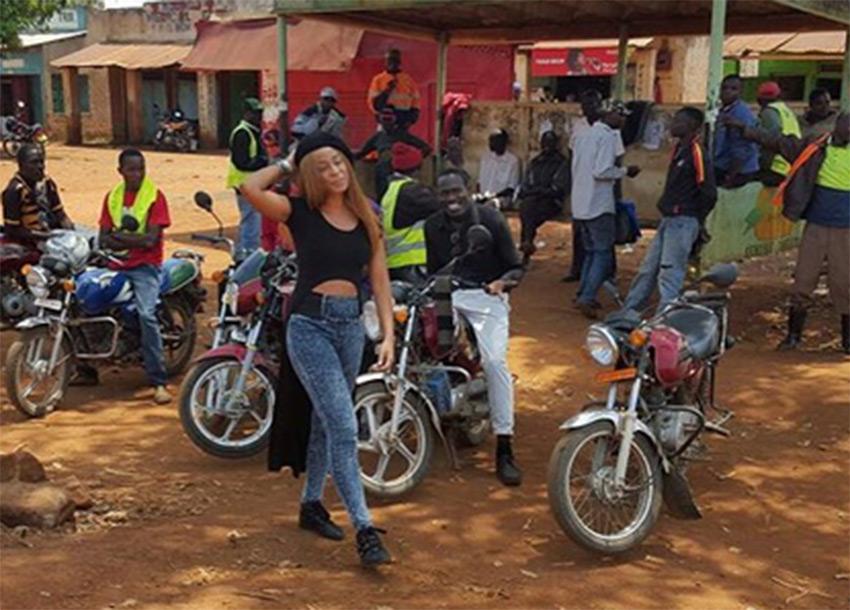 Jamaican singer Alaine searching for 'Wafula' in Kakamega
