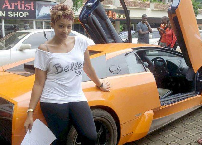 Diamond's partner Zari Hassan is coming to Kenya