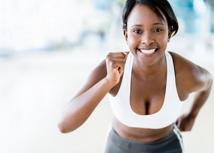 Upping physical activity level yields diminishing returns