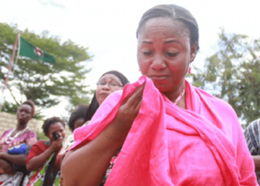 Malindi women protest stripping of Jubilee agent