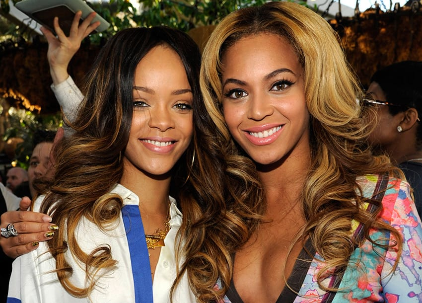 """Rihanna opens up about """"rivalry"""" with Beyonce"""
