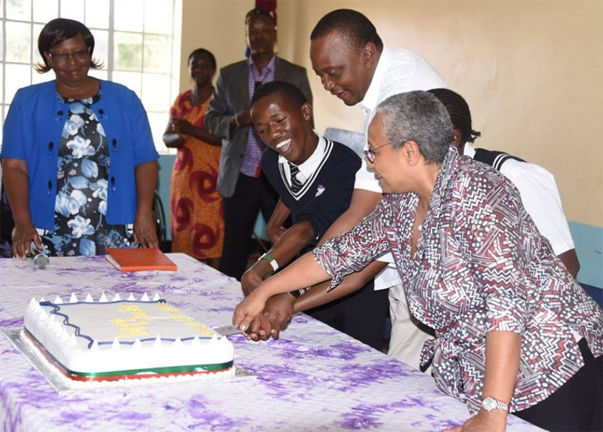 Uhuru pledges education reforms to cater for physically impaired