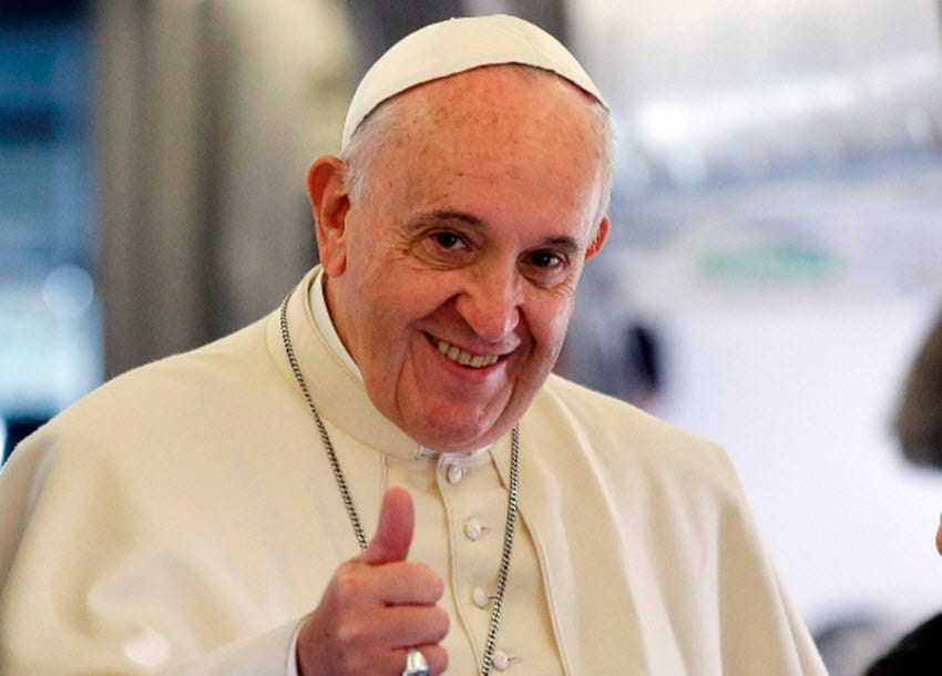 Pope Francis criticises West for trying to export own brand of democracy to Iraq, Libya
