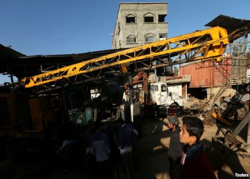 Israeli airstrikes hit Gaza