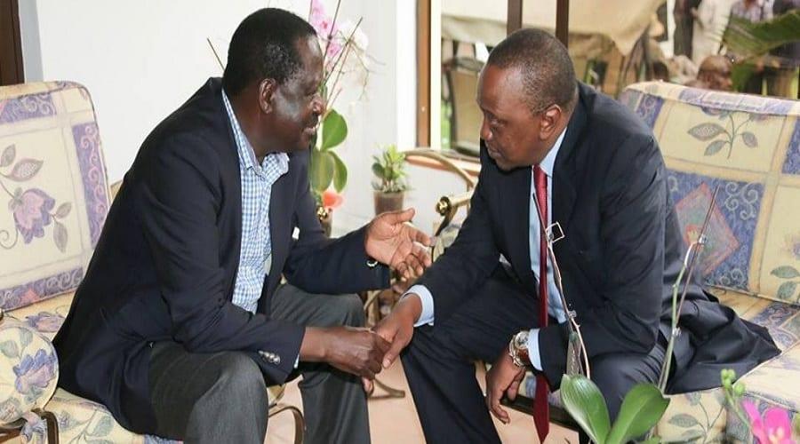 Kenyatta, Raila meet over IEBC impasse