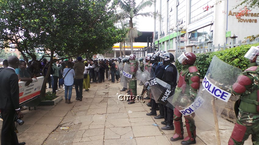 Police misinterpreted court order on anti-IEBC protests, CORD says