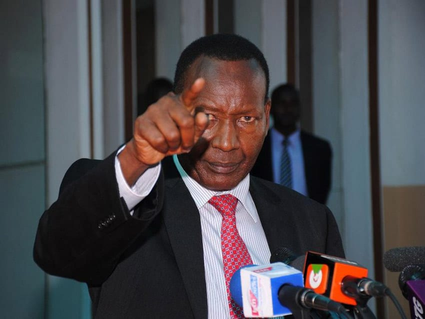 Nkaissery issues stern warning against violence in party primaries