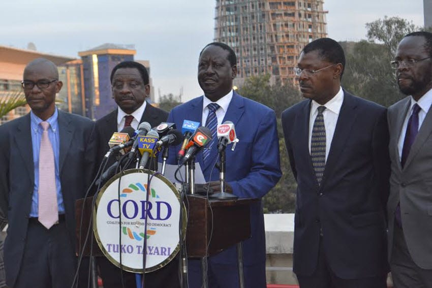 Statehouse denounces four-man team as CORD disagrees on committee membership