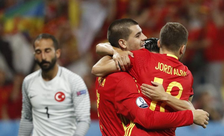 Free-scoring Spain show-off Euro title credentials