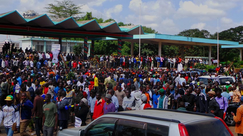 CORD ordered to pay Nairobi County for using Uhuru Park