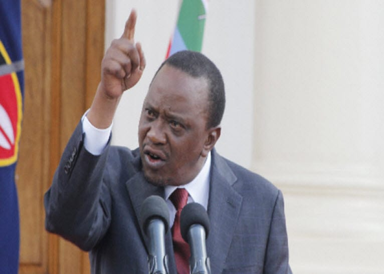 Uhuru cracks whip on opposition's calls for secession