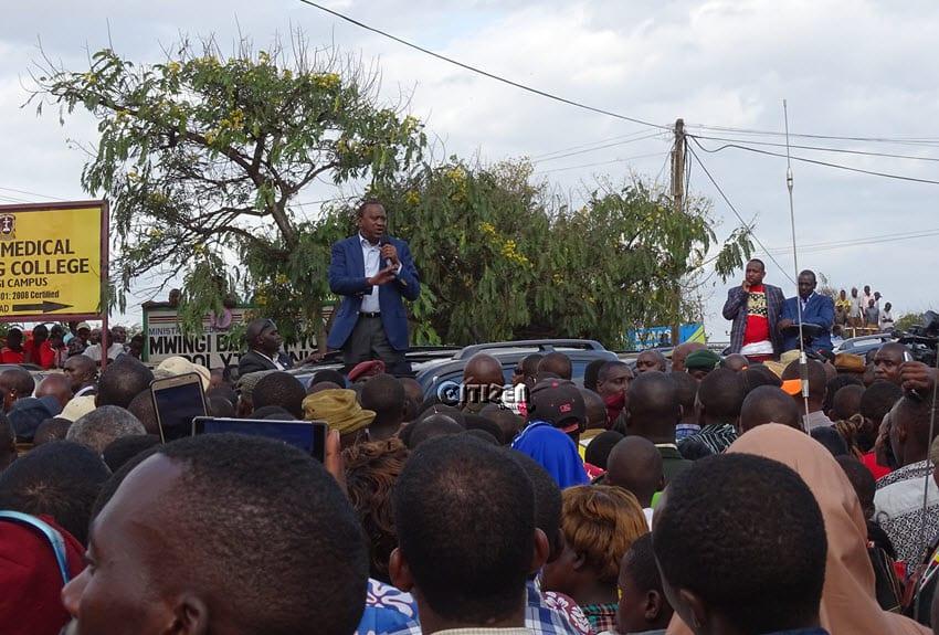 Uhuru, Ruto woo Ukambani voters, promise more goodies