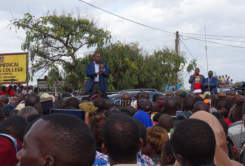 We will not be used as a rubber stamp – Senator Sonko