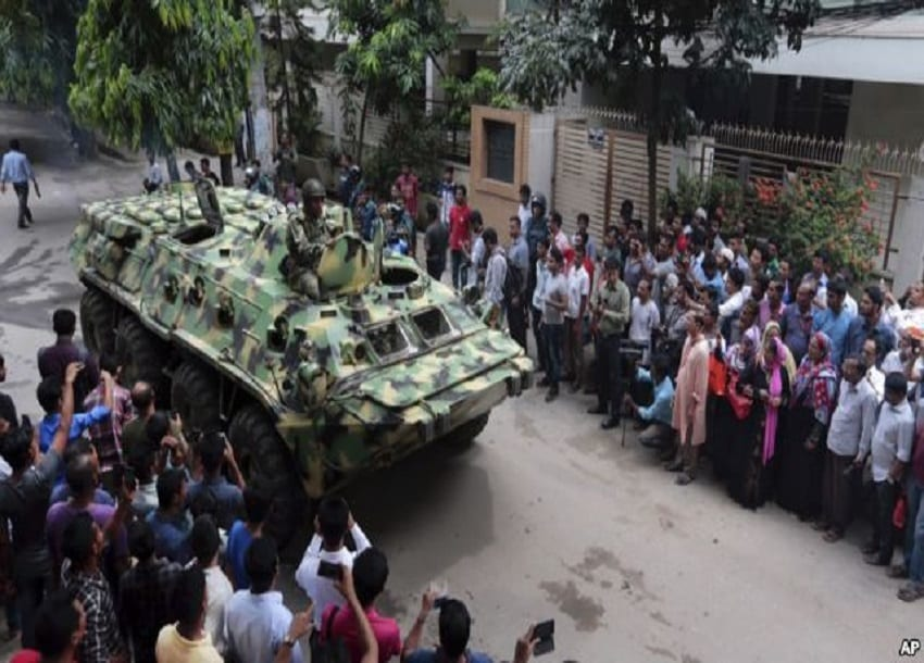 Bangladesh capital on lockdown after 20 Hostages killed in restaurant standoff