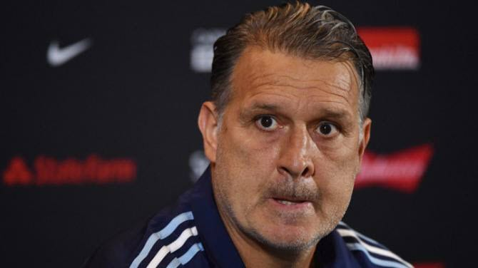 Argentina coach Martino joins Messi in quitting